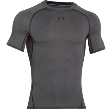Under Armour Heatgear Armour SS Heren Carbon