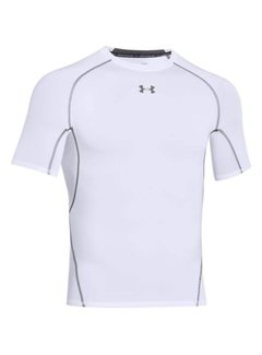 Under Armour Heatgear Armour SS Heren Wit