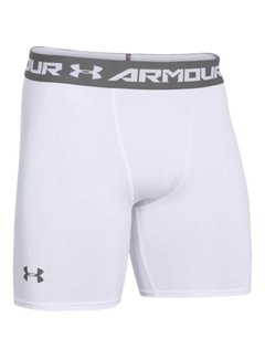 Under Armour Heatgear Armour Comp Short Men White