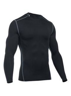Under Armour Coldgear Armour Mock Heren Zwart
