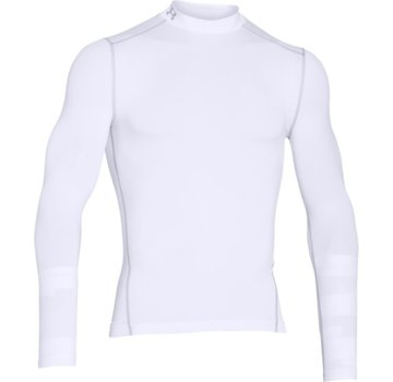 Under Armour Coldgear Armour Mock Heren Wit