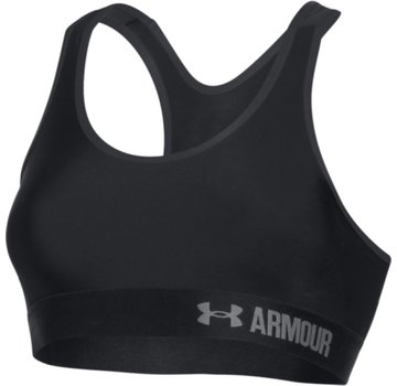 Under Armour Armour Mid Solid Bra Zwart