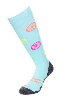 Indian Maharadja Socks Fun Blue