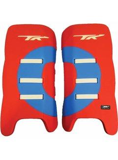 TK Total Three GLX 3.1 Legguards Rood/Sky
