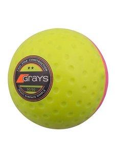 Grays Bal 50/50 Geel / Roze