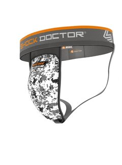 Shock doctor Unterstützer mit AirCore Soft Cup Weiß