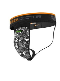 Shock doctor Supporter with AirCore Hard Cup Black