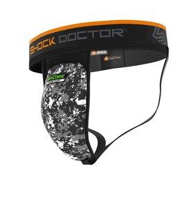 Shock doctor Unterstützer mit AirCore Hard Cup Schwarz