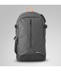 Dita Backpack Icon Fluo Red/Dark Grey