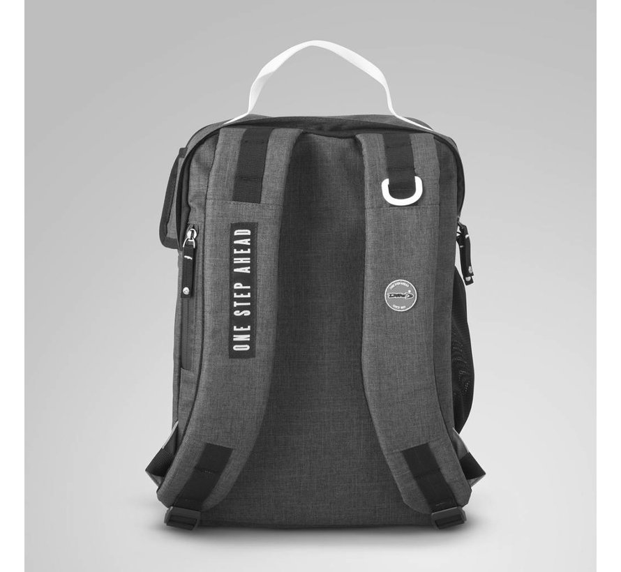 Backpack Classic Wit/Donkergrijs