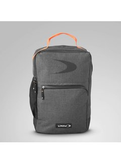 Dita Backpack Classic Fluo Rood/Donkergrijs