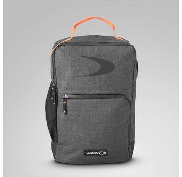 Dita Backpack Classic Fluo Red/Dark Grey