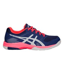Asics GEL-ROCKET 8 Indoor Dames Blauw/Zilver