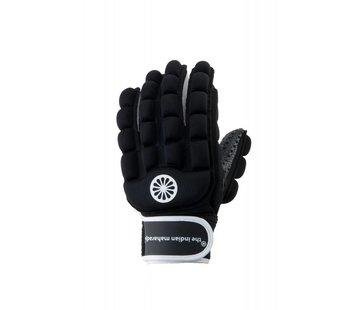 Indian Maharadja Glove foam full links Zwart
