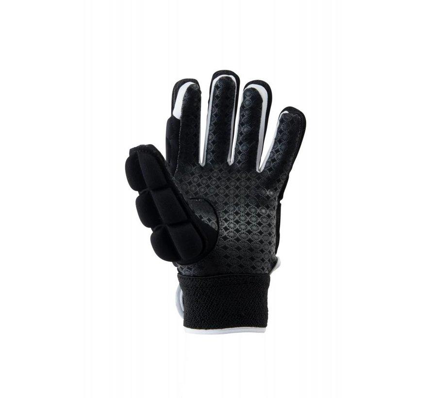 Glove foam full links Zwart