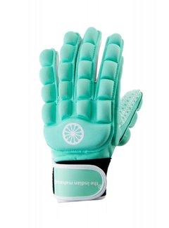 Indian Maharadja Glove foam full finger left Mint