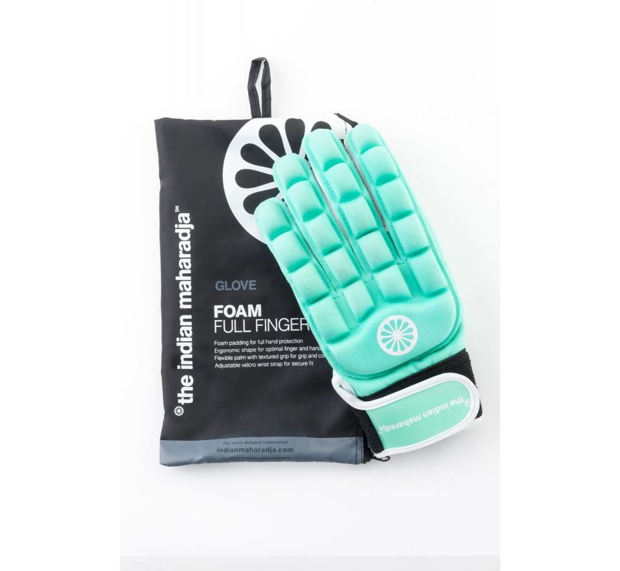 Glove foam full left Mint
