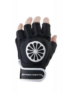 Indian Maharadja Glove shell half links Zwart