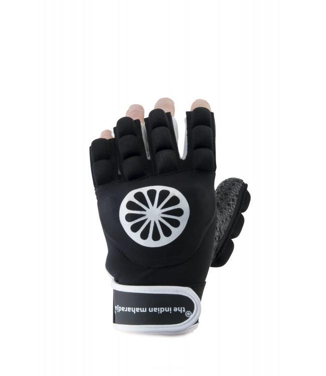 Indian Maharadja Glove shell/foam half links Zwart