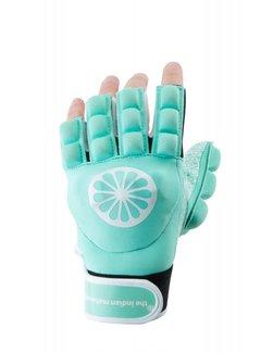Indian Maharadja Handschoen shell/foam halve vingers Mint [links]