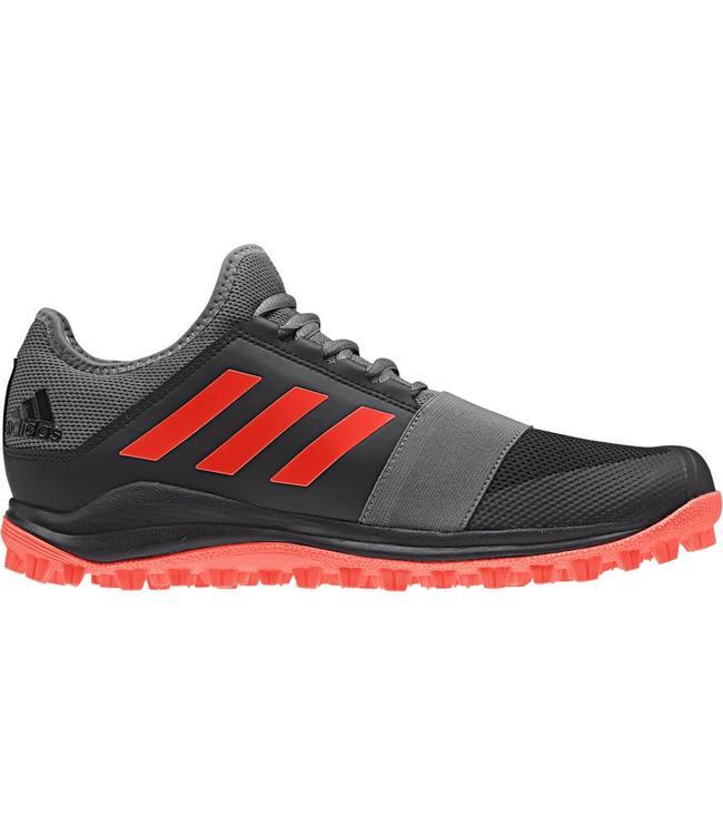 Adidas Divox 1.9S Zwart/Rood/Grijs