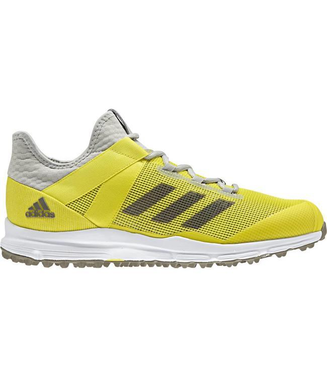 wholesale dealer 237ee 52202 Adidas Zone Dox 1.9S BruinWitNeon Geel