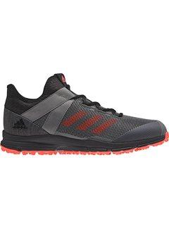 free shipping c7ce1 8873f Adidas Zone Dox 1.9S Black Red Grey