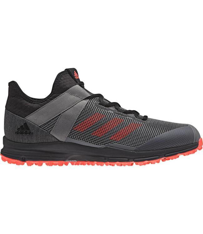 sports shoes 68b32 351da Adidas Zone Dox 1.9S ZwartRoodGrijs