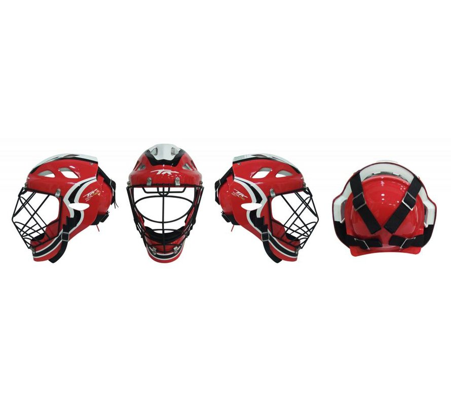 PHX Total Two 2.1 Hockeyhelm Rot