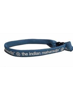 Indian Maharadja Armband Weiss/Blau