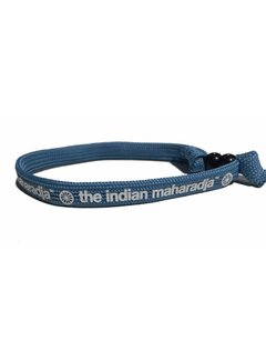 Indian Maharadja Bracelet Weiss/Blau