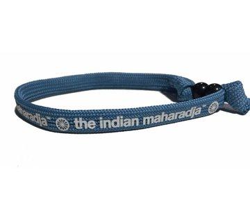 Indian Maharadja Armbandje – Wit/Blauw