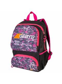 Grays GX50 Rucksack Junior Camo Pink