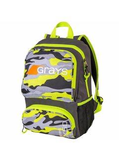 Grays GX50 Rucksack Junior Camo Gelb