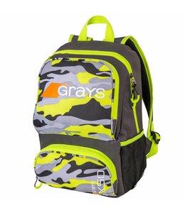Grays GX50 Backpack Junior Camo Yellow