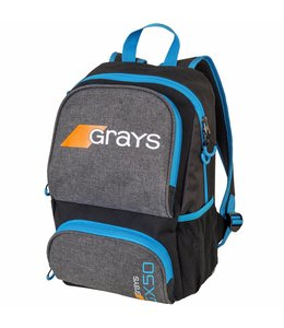 Grays GX50 Rucksack Junior Grau/Blau
