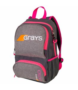 Grays GX50 Rucksack Junior Grau/Pink