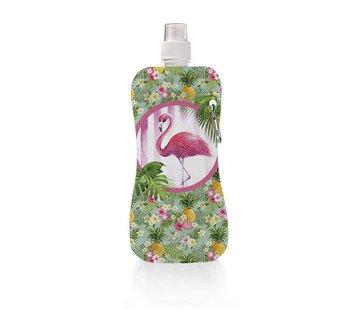 Aqua Licious Happy Flamingo