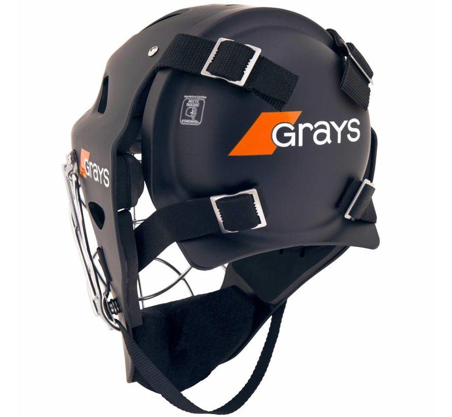 G600 Helm Schwarz/Chrome