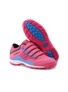 Brabo Velcro Hockey Shoe Pink/Purple