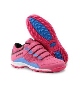 Brabo Velcro Hockey Schuh Rosa/Lila