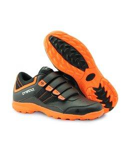 Brabo Velcro Hockey Schuh Schwarz/Orange