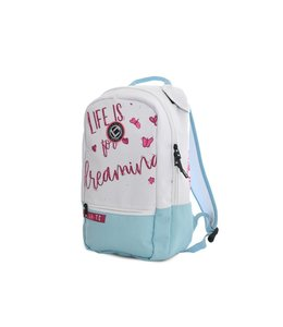 Brabo Backpack Team Butterfly Wit/Mint