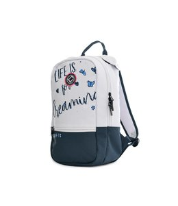 Brabo Backpack Team Butterfly Wit/Navy