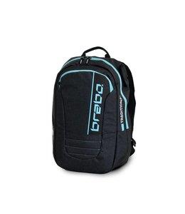 Brabo Backpack JR Traditional Denim Black/Aqua
