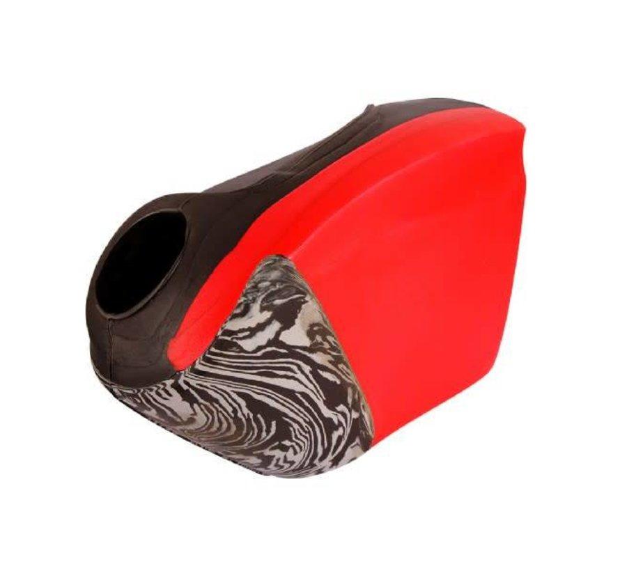 ROBO Hi-Rebound Handprotector Rood/Zwart Rechts