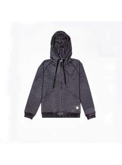 Osaka Men Techleisure Zip Hoodie – Black