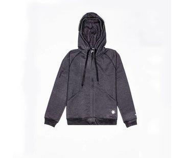 Osaka Men Techleisure Zip Hoodie – Zwart