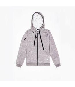 Osaka Herren Techleisure Zip Hoodie – Grau Melange