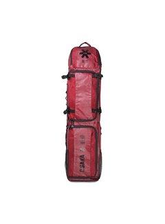 Osaka SP Large Stickbag – Maroon/Schwarz